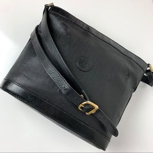 Authentic Vintage Fendi Crossbody Italy 1938 Black